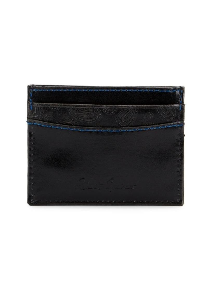 Robert Graham Greco 1 RFID Leather Card Case