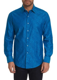Robert Graham Green Tea Sport Shirt