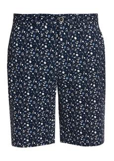Robert Graham Gunnar Floral Stretch-Cotton Shorts