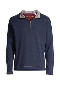 Robert Graham Half-Zip Sweater