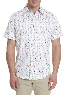 Robert Graham Handel Short Sleeve Shirt