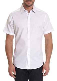 Robert Graham Hanging Gardens Short-Sleeve Button-Down Shirt