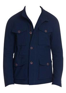 Robert Graham Harley Linen-Blend Field Jacket