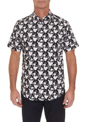 Robert Graham Hexagon Short Sleeve Shirt
