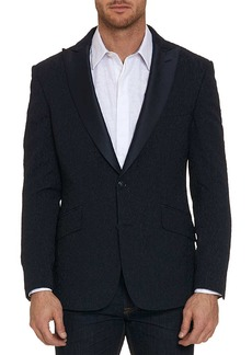 Robert Graham Hines Peak Lapel Two Button Trim Fit Blazer