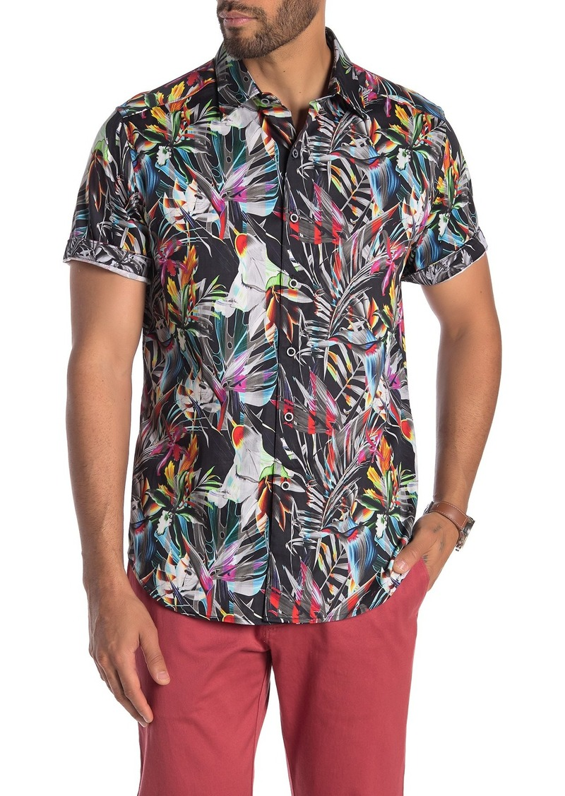 Robert Graham Hoxton Short Sleeve Classic Fit Shirt
