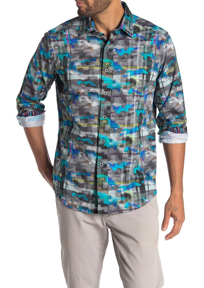 Robert Graham Hydroflauge Long Sleeve Classic Fit Shirt
