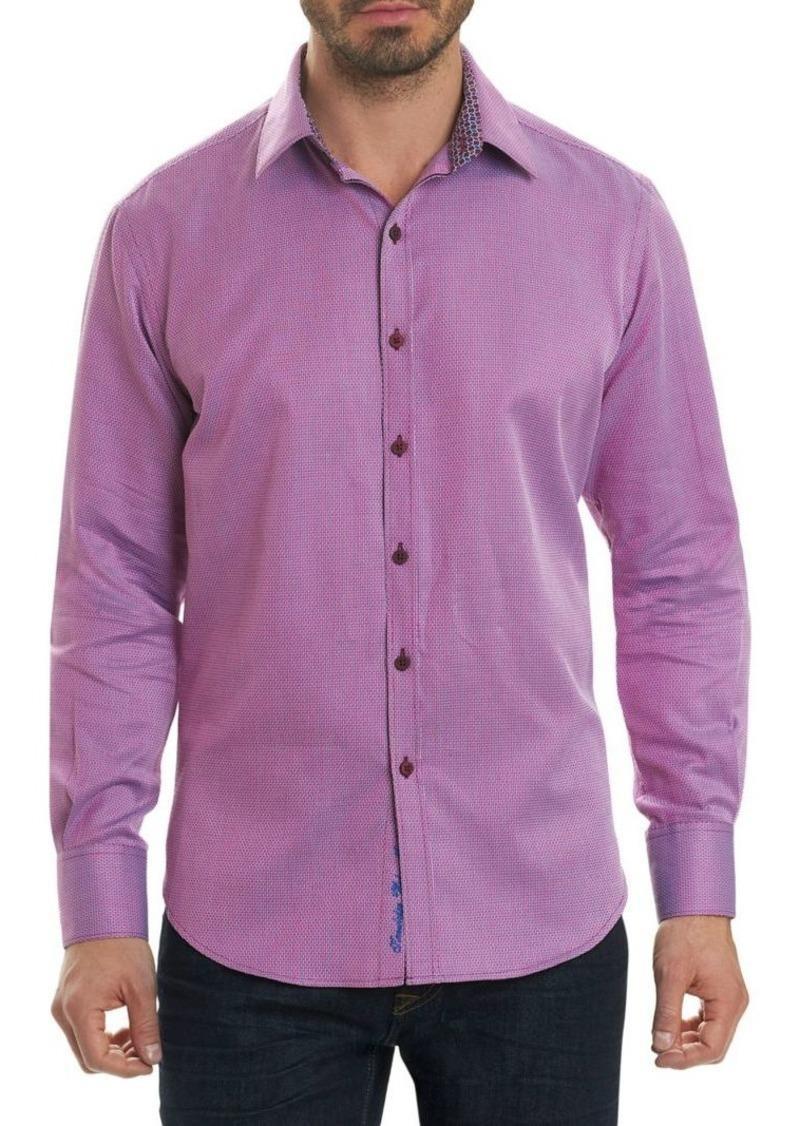 Robert Graham Jobson Cotton Button-Down Shirt