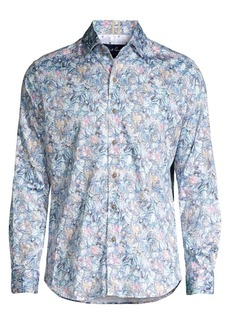 Robert Graham Kaiden Tiger Lily Sport Shirt