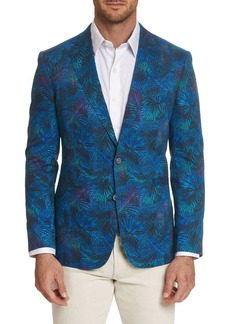 Robert Graham Kalman Notch Lapel Two Button Tailored Fit Woven Sport Coat