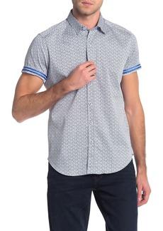 Robert Graham Kayenta Short Sleeve Tailored Fit Shirt