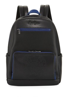 Robert Graham Keller Hill Perforated Skull Faux Backpack