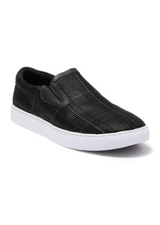 Robert Graham Kerby Printed Leather Slip-On Sneaker