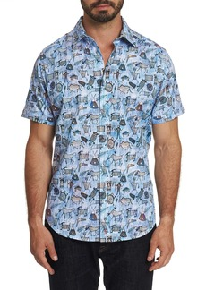Robert Graham King Solomon Short Sleeve Shirt
