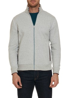 Robert Graham Knowles Full Zip Knit Top
