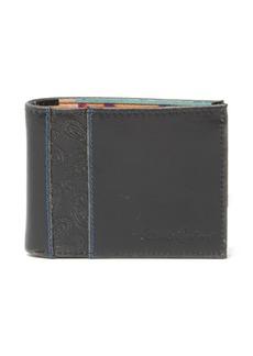 Robert Graham Lagos Paisley Embossed Leather Billfold Wallet