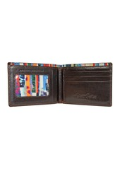 Robert Graham Lagos Paisley Embossed Leather Billfold Wallet