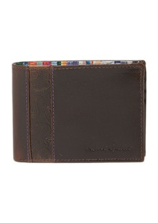 Robert Graham Lagos Slim Fold Leather Wallet