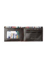 Robert Graham Lagos Slim Fold Leather Wallet