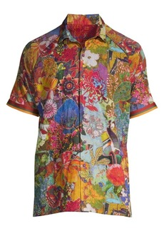Robert Graham Landscapes Linen Shirt