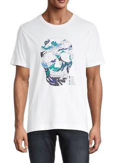 Robert Graham Lauderdale Skull Graphic T-Shirt