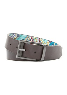 Robert Graham Laughton Smooth Reversible Leather Belt
