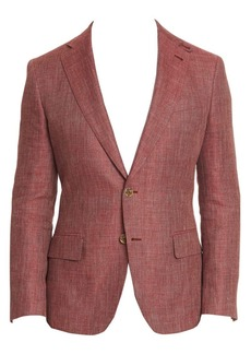 Robert Graham Leland Tailored-Fit Linen-Blend Blazer