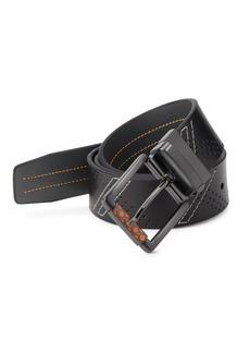 Robert Graham Libyan Leather Belt