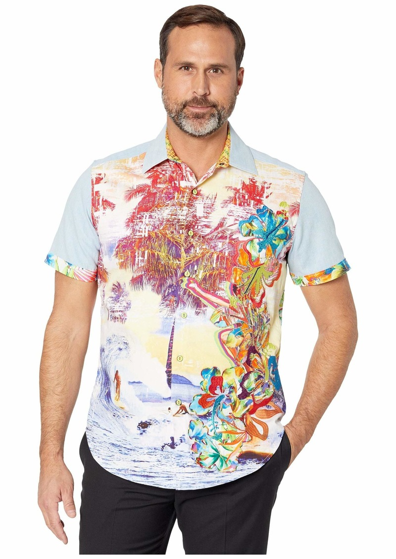 Robert Graham Limited Edition Dawn Patrol Short Sleeve Shirt