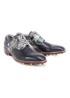 Robert Graham Limited Edition Printed Golf Shoe