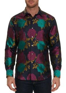 Robert Graham Limited Edition Tango Floral Silk Sport Shirt