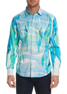 Robert Graham Limited Edition The Merman Sport Shirt