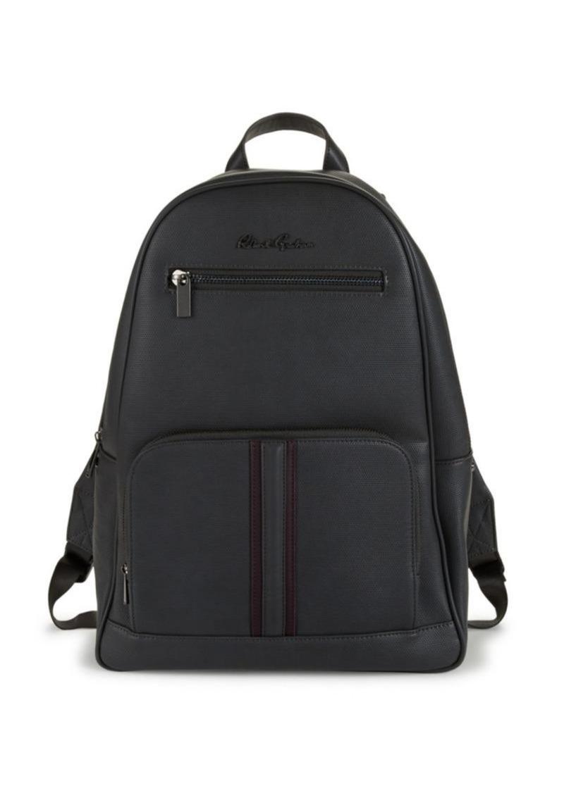 Robert Graham Logo Faux Leather Backpack