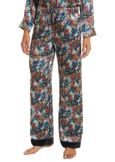 Robert Graham Loran Silk Lounge Pant