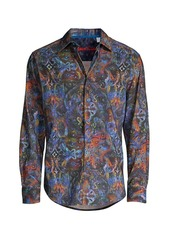 Robert Graham Lucy Diamond Cotton Shirt