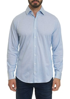 Robert Graham Lyells Knit Long Sleeve Shirt