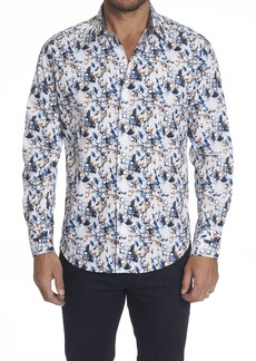Men's Abrell Sport Shirt Size: S by Robert Graham