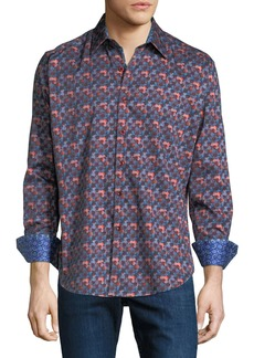 Robert Graham Men's Alberton Woven Sport Shirt