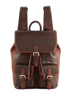 Robert Graham Men's Alondra Leather Rucksack Backpack