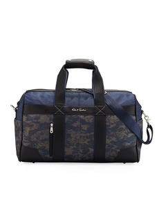 Robert Graham Men's Anson Camo-Print Weekender Bag