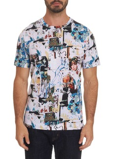 Men's Ashlar Tee Shirt Size: L by Robert Graham