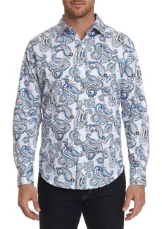 Robert Graham Men's Atlantic Paisley Print Sport Shirt