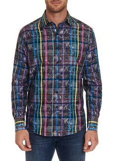 Robert Graham Men's Augustine Graphic Sport Shirt