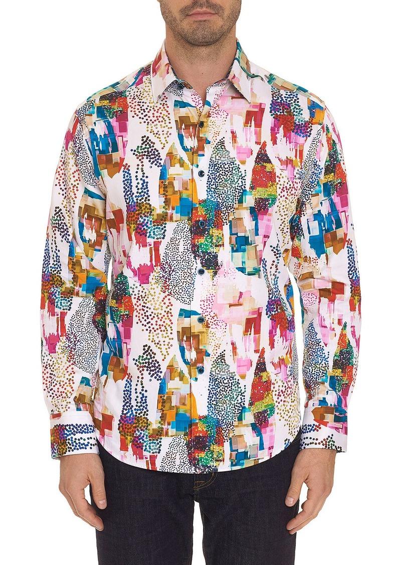 Robert Graham Men's Avian Multicolor Sport Shirt
