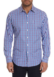 Robert Graham Men's Backstreet Checker Sport Shirt