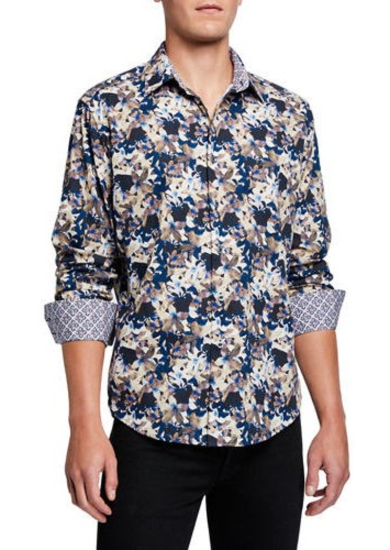 Robert Graham Men's Bassett Classic-Fit Sport Shirt