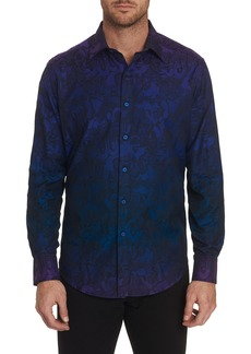 Men's Beat Street Sport Shirt Size: XS by Robert Graham