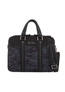 Robert Graham Men's Bellamy Mixed Media Briefcase