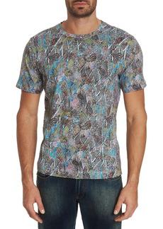 Robert Graham Men's Bellflora Abstract-Print Short-Sleeve Cotton T-Shirt