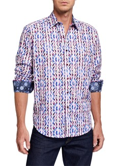 Robert Graham Men's Bent Creek Long Sleeve Sport Shirt